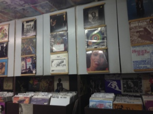 A-1 Records wall