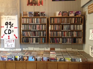 Just some of the 99 cent CDs