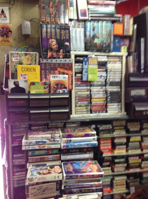VHS too ... it's all here ... somewhere