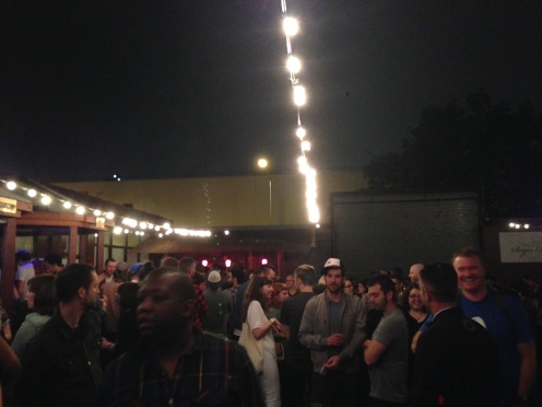 Outdoors at the Sugarhill Supper Club